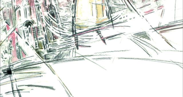 В ратуше ...на чердаке.... выставка графики Андрея Духовникова.