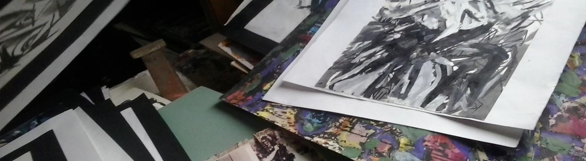Съемки фильма о витебском художнике Александре Соловьеве.