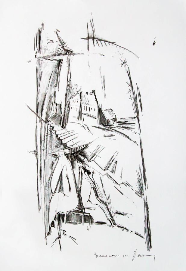 Белые ночи. Б., см.т., 69,5х42; 2014