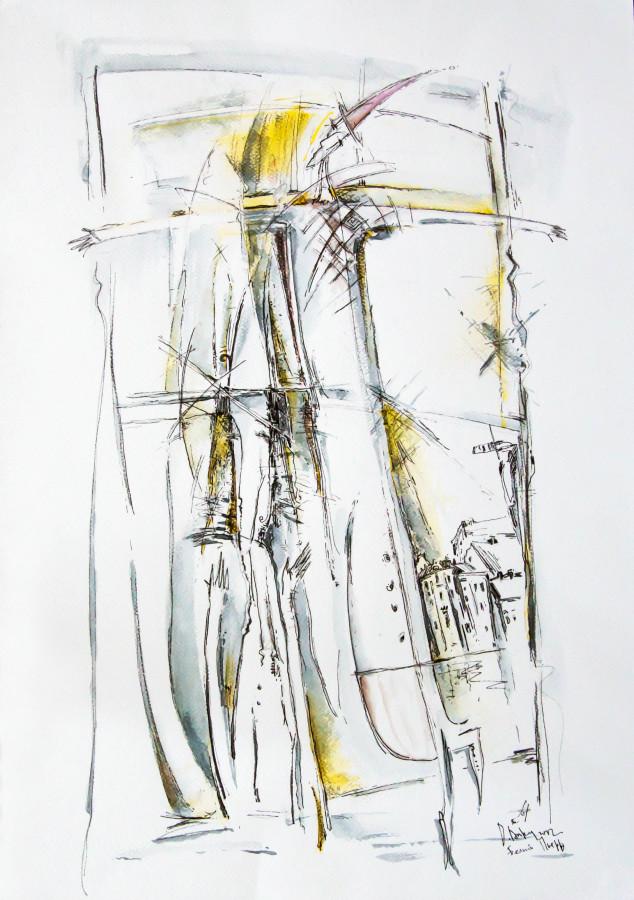 Белый Пьеро. Б., см.т., 69,5х42; 2007